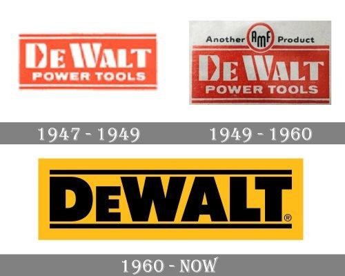 DeWalt Logo history