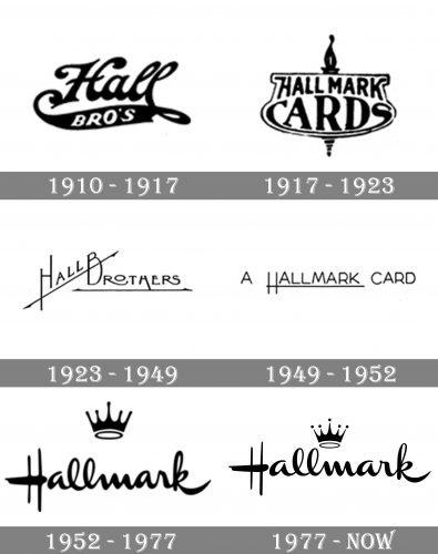 Hallmark Logo history