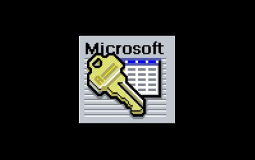 Microsoft Access Logo-1992
