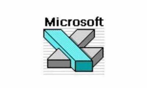 Microsoft Excel Logo 1990