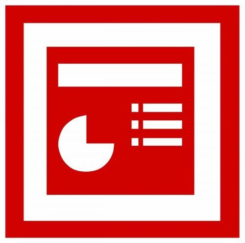 Microsoft PowerPoint Logo 1999-2003