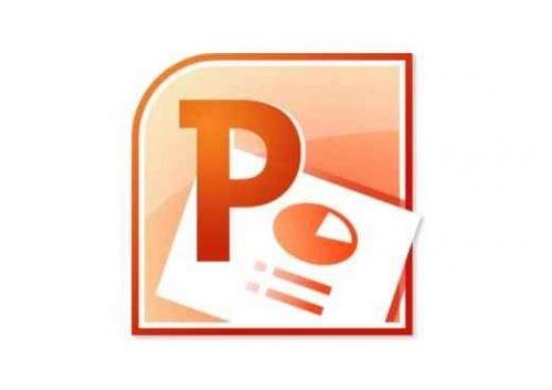 Microsoft PowerPoint Logo 2010-2013