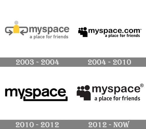 Myspace Logo history