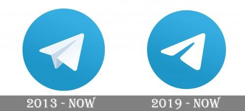 Telegram Logo history