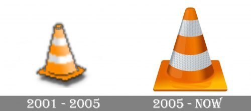 VLC Logo history