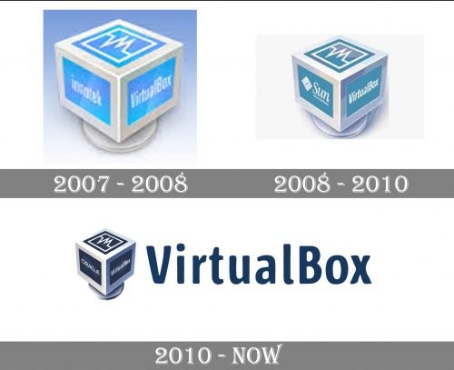 VirtualBox Logo history