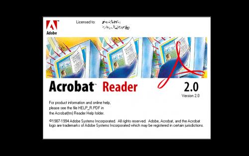 Adobe Acrobat Logo-1994