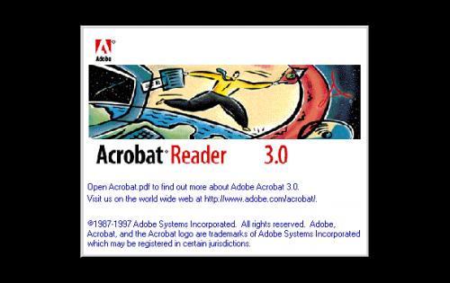 Adobe Acrobat Logo-1996