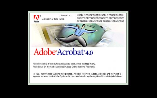 Adobe Acrobat Logo-1999