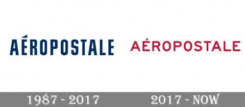 Aeropostale Logo history