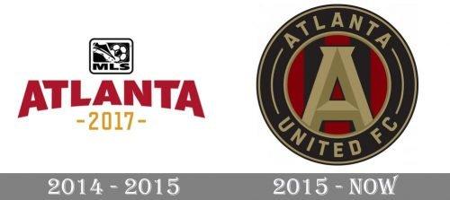 Atlanta United Logo history