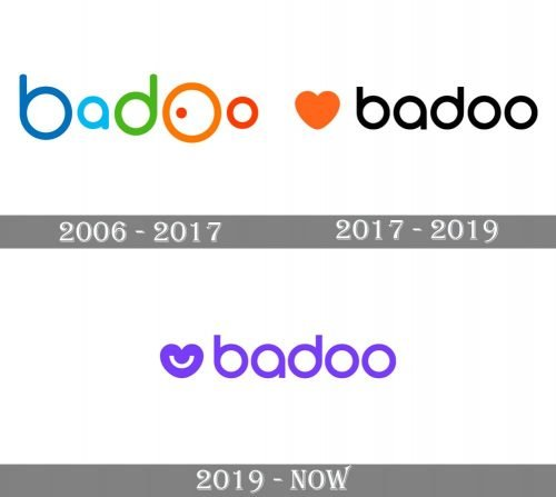 Badoo Logo history