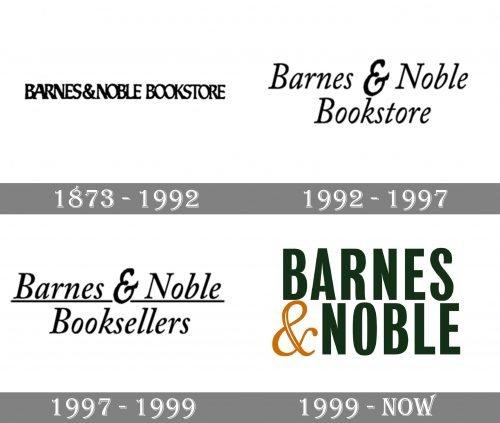 Barnes & Noble Logo history