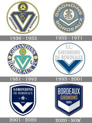 Bordeaux Logo history