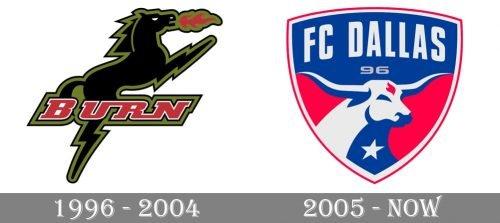 Dallas Logo history