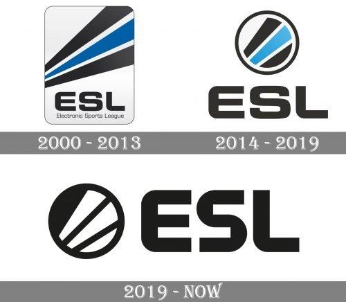ESL Logo history