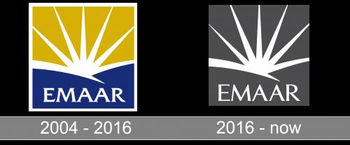 Emaar Properties Logo history