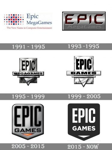 Epic Games Logo history