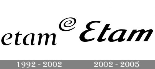 Etam Logo history