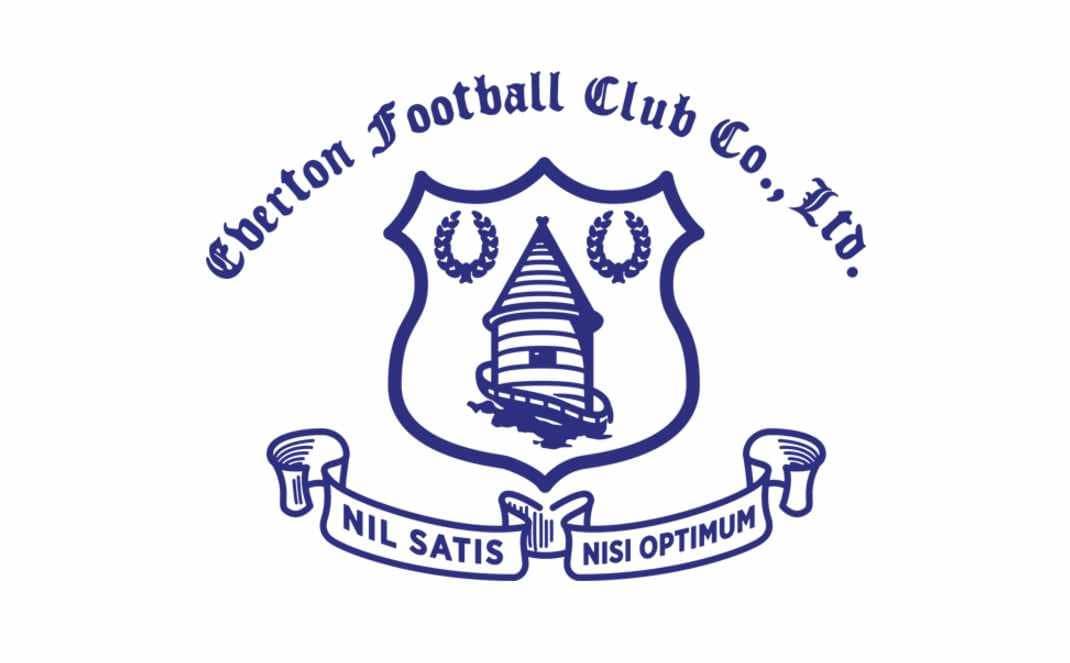 Everton Logo Outline Initial Logo Outline Floral Logo Signature Logo Etsy