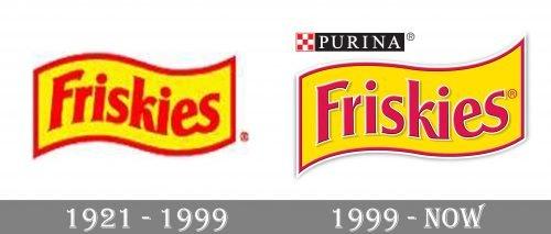 Friskies Logo history