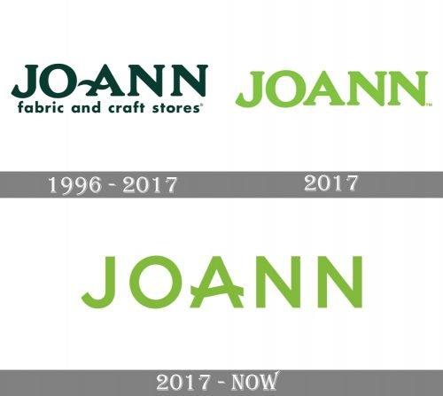 Joann Logo history