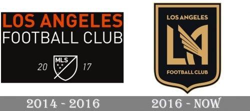 Los Angeles Logo history