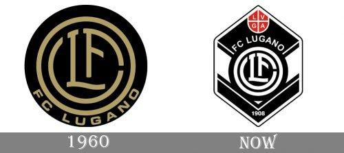 Lugano Logo history