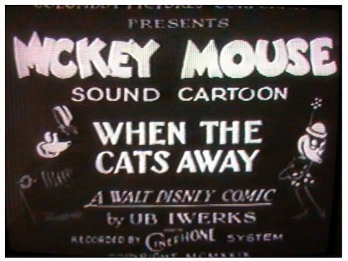 Mickey Mouse Logo 1928