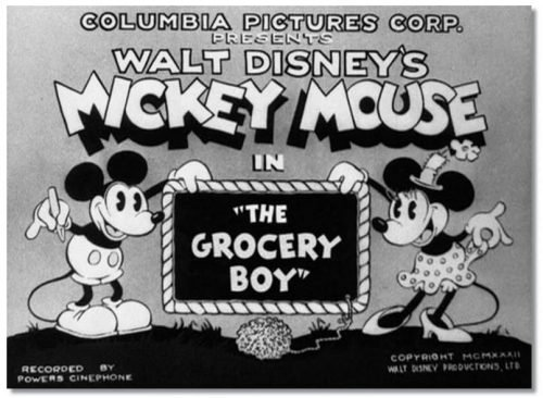 Mickey Mouse Logo 1930