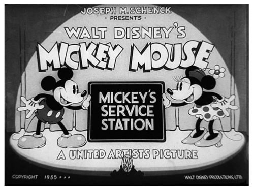 Mickey Mouse Logo 1932