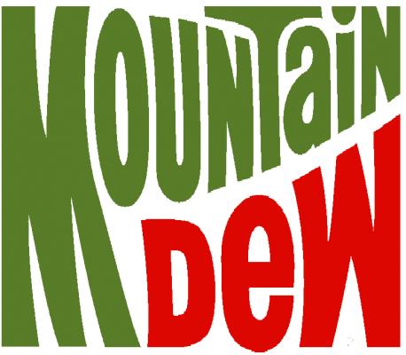 Mountain Dew Logo 1991