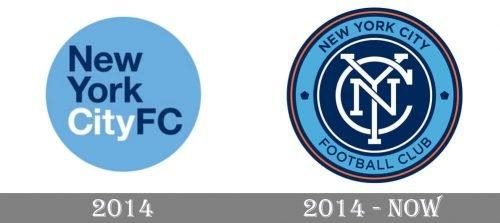 New York City Logo history