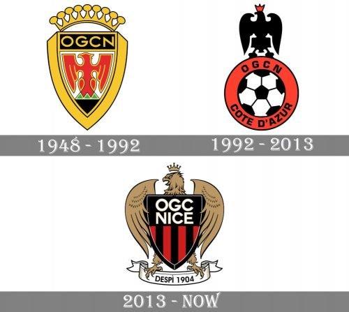 Nice Logo history