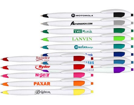 Pens as a logo gifts