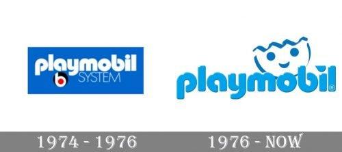 Playmobil Logo history