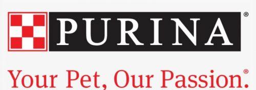 Purina logo and slogan