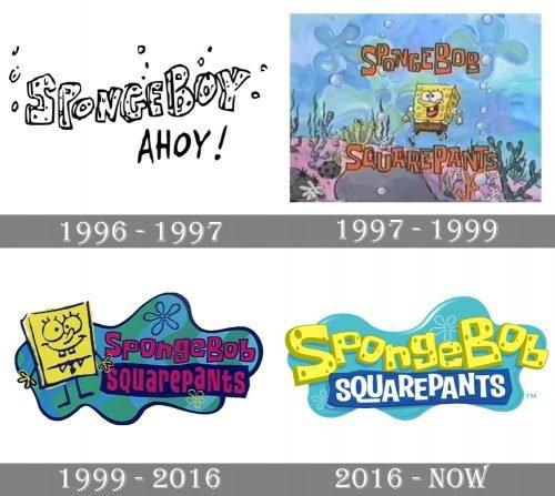 SpongeBob SquarePants Logo history