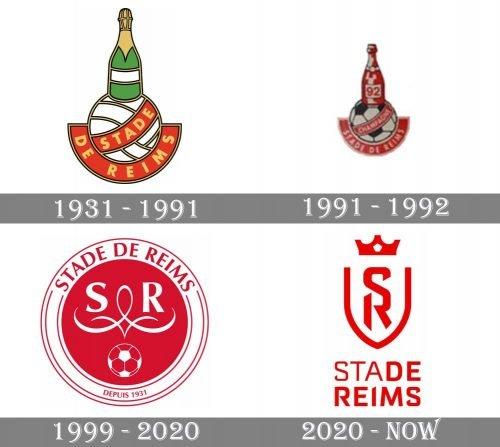 Stade de Reims Logo history