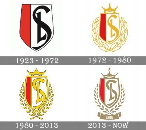 Standard de Liège Logo history