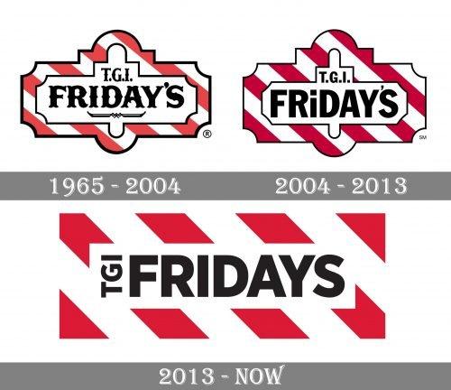 TGI Fridays Logo history