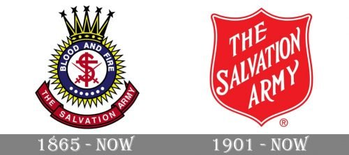 The Salvation Army Logo history