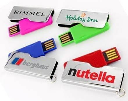 USB flash logo
