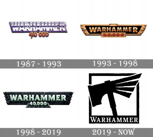 Warhammer Logo history
