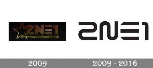 2NE1 Logo history