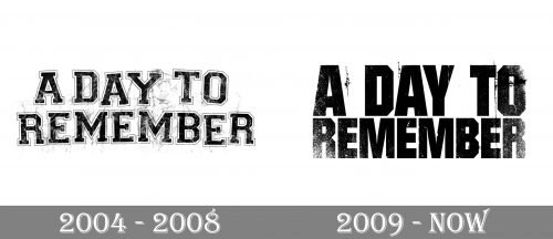 A Day to Remember Logo history
