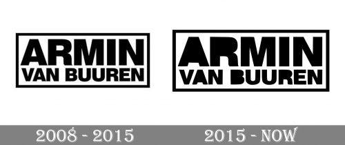 Armin Van Buuren Logo history