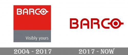 Barco Logo history