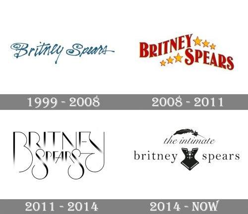 Britney Spears Logo history