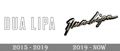 Dua Lipa Logo history